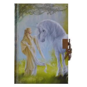 Journal intime Dame à la Licorne de Sandrine Gestin, Carnet secret des Mondes merveilleux