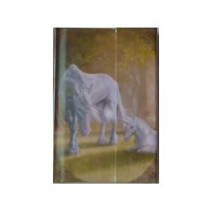Petit carnet Licornes de Sandrine Gestin, un notes book des Mondes merveilleux