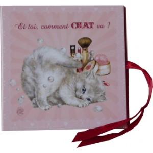 Set de correspondance de Séverine Pineaux, Cartes de correspondance des Chats enchantés