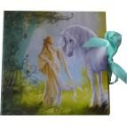 Set de correspondance de Sandrine Gestin, Dame à la licorne, Cartes de correspondance des Mondes merveilleux