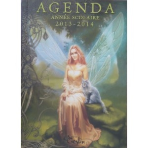 Agenda scolaire 2013-2014, Fées de Sandrine Gestin