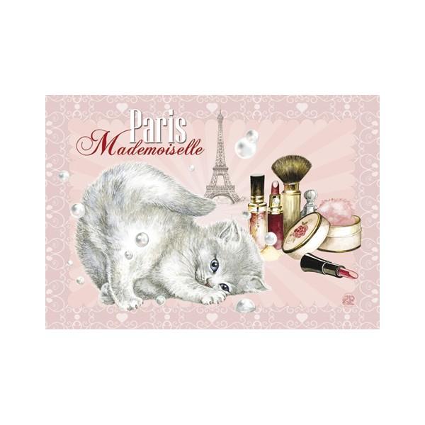 magnet de chat magnet paris mademoiselle de s verine pineaux f erie et merveilleux. Black Bedroom Furniture Sets. Home Design Ideas