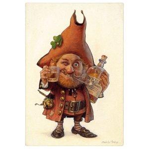Carte Postale De Jean-Baptiste Monge, Whisky