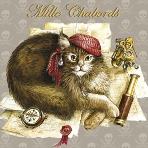 Mille Chabord, Magnet de chat de Séverine Pineaux - Chats Enchantés