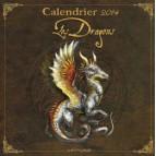 Calendrier des dragons 2014, calendrier mural de Séverine Pineaux – Dragons petit traité