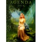 Agenda des fées, agenda annuel 2014 de Sandrine Gestin