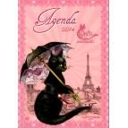 Agenda des chats enchantés, agenda annuel 2014 de Séverine Pineaux