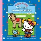Hello Kitty fête son anniversaire, livre enfant de Brian James, illustré par Sachiho Hino