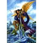 Carte de voeux Archange Gabriel de Briar