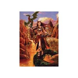 Carte de voeux fantasy, Artemis de Briar
