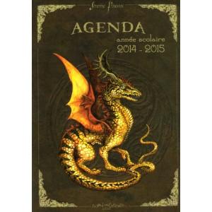 Agenda scolaire Dragons de Séverine Pineaux 2014-2015, éditions Au Bord des Continents...