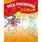 Mes pochoirs de Chevaliers, 50 pochoirs pour enfants aux éditions Piccolia