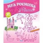 Mes pochoirs de Princesses, 50 pochoirs pour enfants aux éditions Piccolia