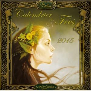 Calendrier des fées 2015 de Sandrine Gestin, calendrier mural aux éditions Au Bord des Continents
