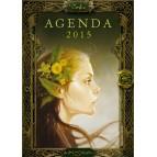 Agenda des fées de Sandrine Gestin, agenda annuel 2015 aux éditions Au Bord des Continents...