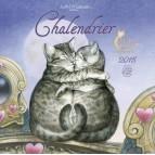 Calendrier des chats enchantés 2015 de Séverine Pineaux, calendrier mural aux éditions Au Bord des Continents...
