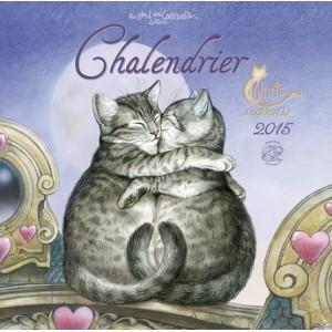 Calendrier des chats enchant s de s verine pineaux for Calendrier mural 2015