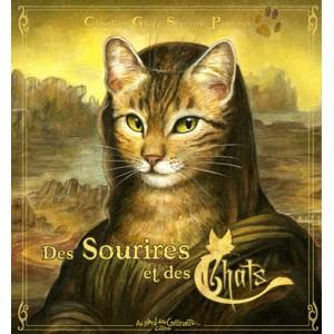 Des Sourires et des Chats, livre sur les chats enchantés de Séverine Pineaux aux éditions Au Bord des Continents...