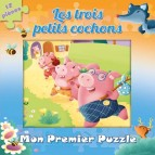 Mon 1er Puzzle Les 3 petits cochons, Puzzle pour enfants aux éditions PIccolia