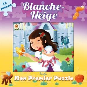 Mon 1er Puzzle Blanche Neige, Puzzle pour enfants aux éditions PIccolia