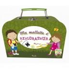Ma malette d'explorateur, livres et jeux pour enfants aux éditions Piccolia