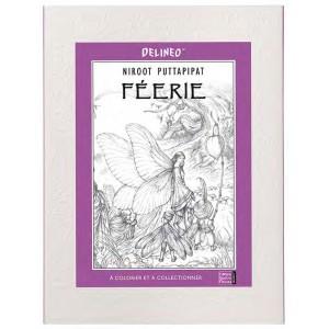 Féerie, Frise à colorier: Coloriage de fées de Lucile Galliot et Niroot Puttapipat aux éditions Quatre Fleuves