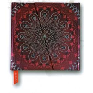 Beau carnet oriental Kolam coll. Mandalas, Carnets Boncahier des éd. Piccolia