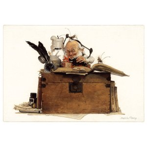 Scrapbooking, carte postale de Jean-Baptiste Monge