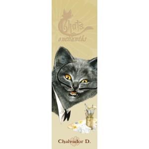 Chalvador D., marque pages pour livre de Séverine Pineaux