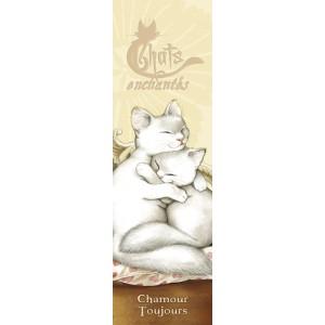 Chamour, marque pages pour livre de Séverine Pineaux