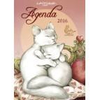 Agenda 2016 des chats de Séverine Pineaux, un agenda annuel de poche