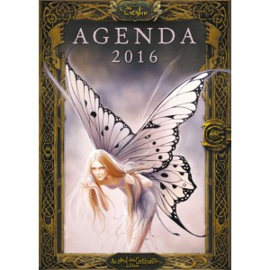 Agenda des fées de Sandrine Gestin, agenda annuel 2016