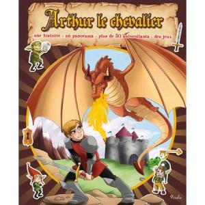 Arthur le chevalier, un livre jeu pour enfants aux éditions Piccolia