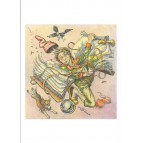 La vision de Féeric, carte postale de Tudor Banus