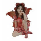 Fée lutine «Mirana», une figurine de fée de l'été de la collection «Fées lutines»