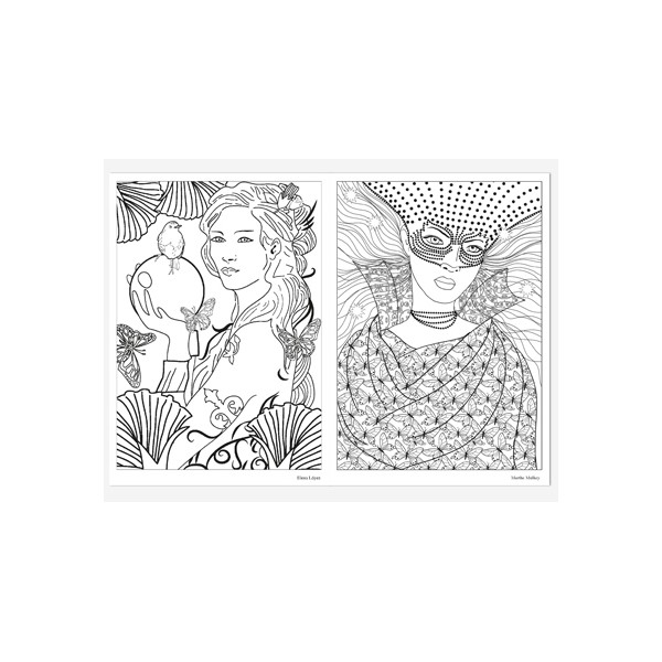 Coloriage Adulte Effet.Coloriage Anti Stress Fee