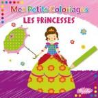 Mes Petits Coloriages: les Princesses, un livre de coloriages aux éditions Piccolia