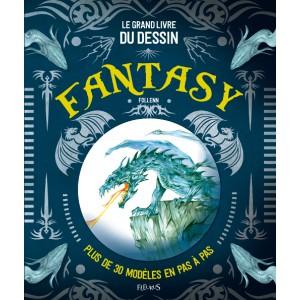 Le grand livre du dessin fantasy de Follenn aux éditions Fleurus