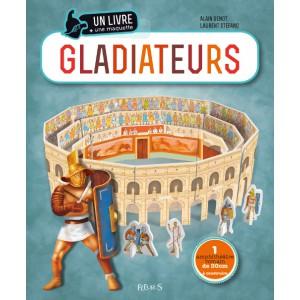 Gladiateurs, un livre et une maquette de Alain Genot et Laurent Stefano aux éditions Fleurus