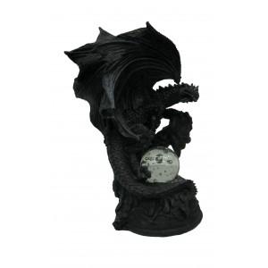 Figurine de dragon lumineux prêt à cracher du feu