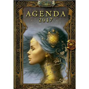 Agenda annuel 2017 Fées et Princesses de Sandrine Gestin