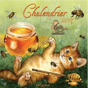 Chalendrier 2017 Le Calendrier Des Chats De S Verine Pineaux