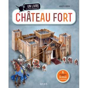 Château Fort, un livre et une maquette de Brigitte Coppin, Fleurus éditions