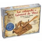 La catapulte de Léonard de Vinci, un livre et une maquette à construire aux éd. Piccolia