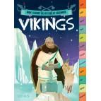 Sylvie Baussier – Vikings, Mon carnet de mythes et légendes, éd. Fleurus