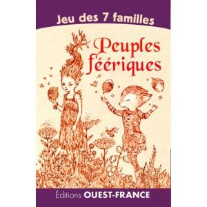 Jeu des 7 familles Peuples féeriques d'Amandine Labarre, éd. Ouest-France