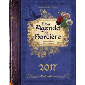 Mon agenda de sorcière 2017 de Denise Crolle-Terzaghi, agenda annuel Rustica éditions
