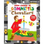 Mon cahier de gommettes, les chevaliers aux éditions Piccolia