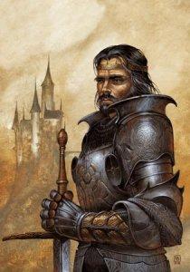 Carte Postale De Didier Graffet, Arthur, roi mythique de toutes les Bretagnes