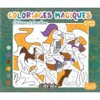 Coloriages magiques Châteaux et chevaliers, un cahier de coloriages aux éditions Piccolia